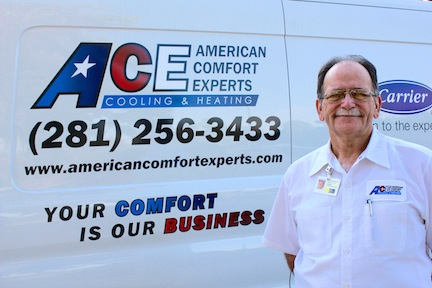 Your Comfort is Our Business! A/C Repair, Heater Repair, Maintenance, and Installation Services